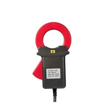 ETCR040 Clamp AC and DC leakage current sensor retractable sensor leakage current clamp meter new era кепки