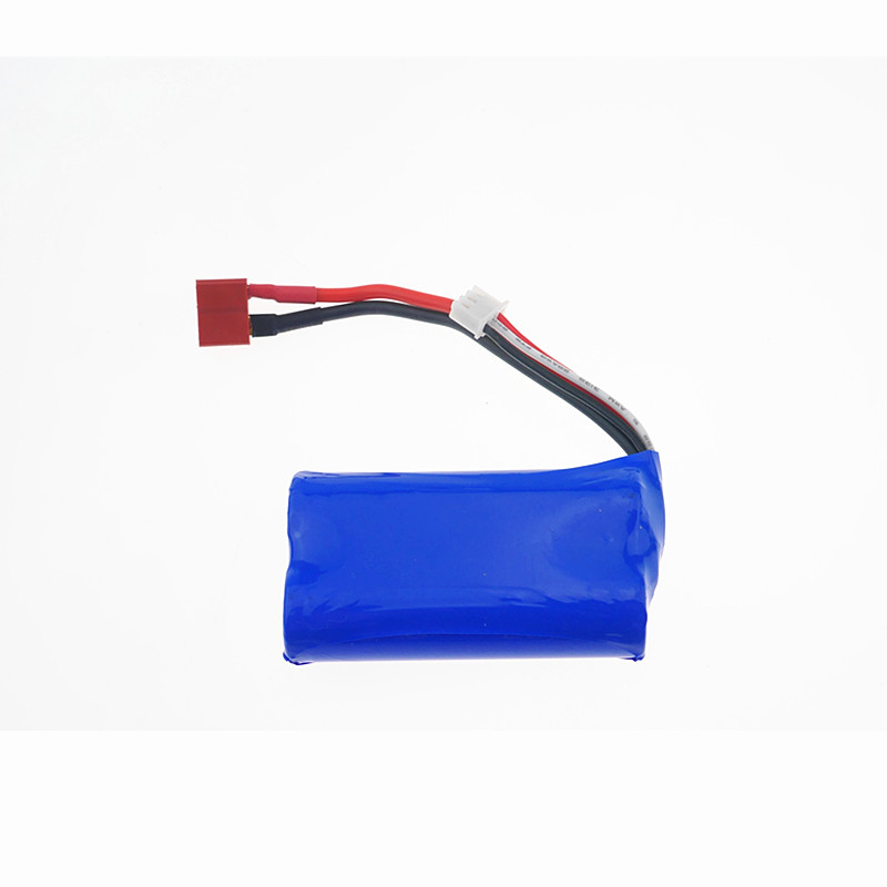 2pcs 12423 12428 Battery RC Car Spare Parts Free shipping 7 4V 1500mAh Lipo rc car
