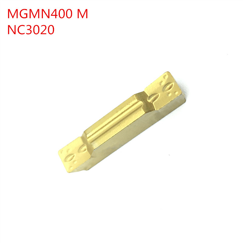 50PCS mgmn400 m nc3020 grooving carbide inserts lathe cutter turning tool Parting and grooving tool Parting off cnc tool  цены