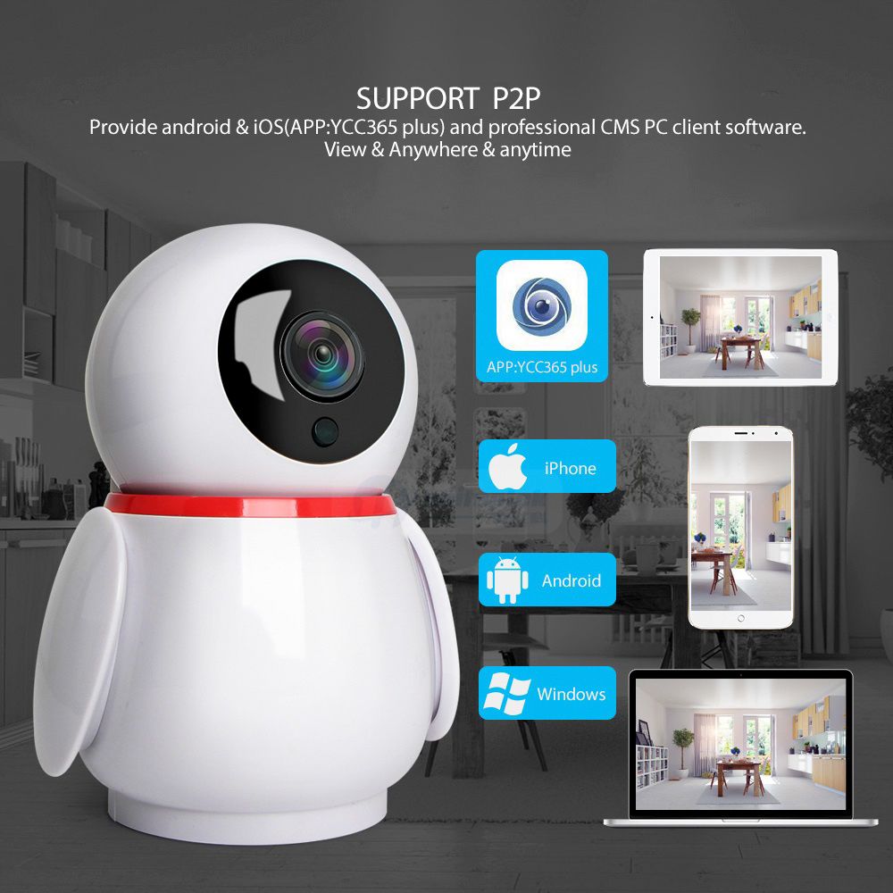 1080P 2MP Cloud Wireless IP Camera Intelligent Auto Tracking Of Human Mini  Wifi Cam Home Security Surveillance CCTV Network Cam
