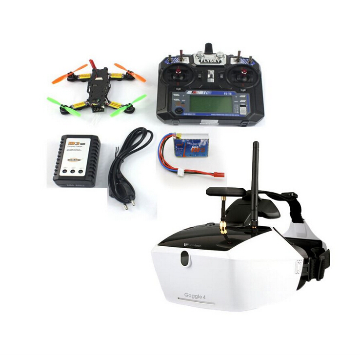 5.8G 40CH FPV 2.4G 6CH RC Mini Racer Quadcopter Drone Tarot 130 RTF Full Kit TL130H1 Walkera Goggle 4 520TVL Camera F17840-E/F original walkera devo f12e fpv 12ch rc transimitter 5 8g 32ch telemetry with lcd screen for walkera tali h500 muticopter drone