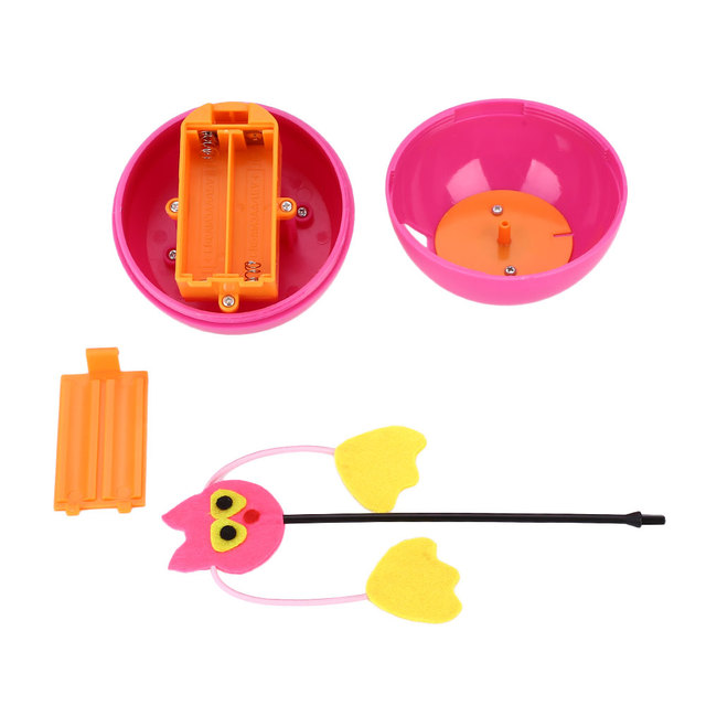 Leakage Food For Tumbler Cat Toys Electric Multi Functional Laser Dog Toys Ball