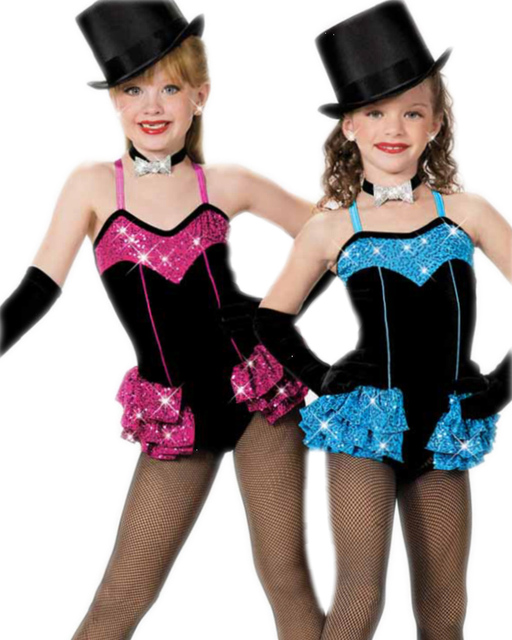 151c6fdb8 Professional JAZZ Modern Costumes Adult Blue Kids Latin Dance Dress  Children Child Costume Female Ballet Clothes