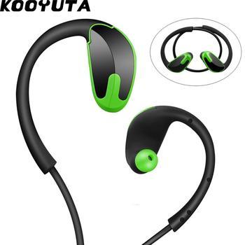 8dc23a13f9d KOOYUTA R8 Sweatproof inalámbrico Bluetooth CSR8635 Auriculares estéreo Auriculares  deportivos para correr para iPhone Auriculares Casque