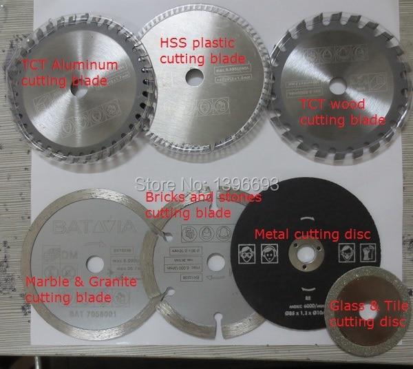 7vnt / komplektas XXL SPEED pjūklo pjovimo diskai mini diskiniam - Elektrinių įrankių priedai - Nuotrauka 2