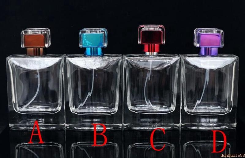 Off-the-shelf 100ML glass perfume bottle#12334