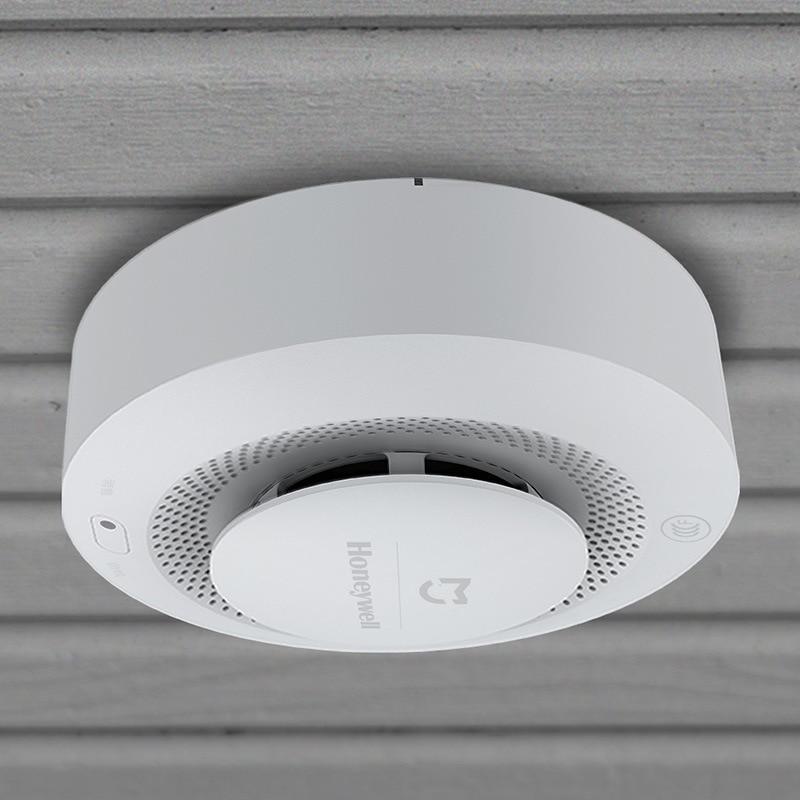 Clearance SaleXiaomi Visual-Alarm Smokehouse Fire-Smoke-Detector Mijia Mihome-App Home-Honeywell