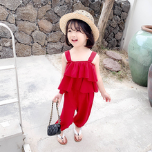 Girls Outfits Suit for Girls Toddler Kids Set Kids Wear Girl Fashion Teenage Clothing Sets Male Child Toddler Girl Clothing shein toddler frill top with ruffle striped pants set casual child teenage girls clothing 2019 korean fashion suit kids clothes