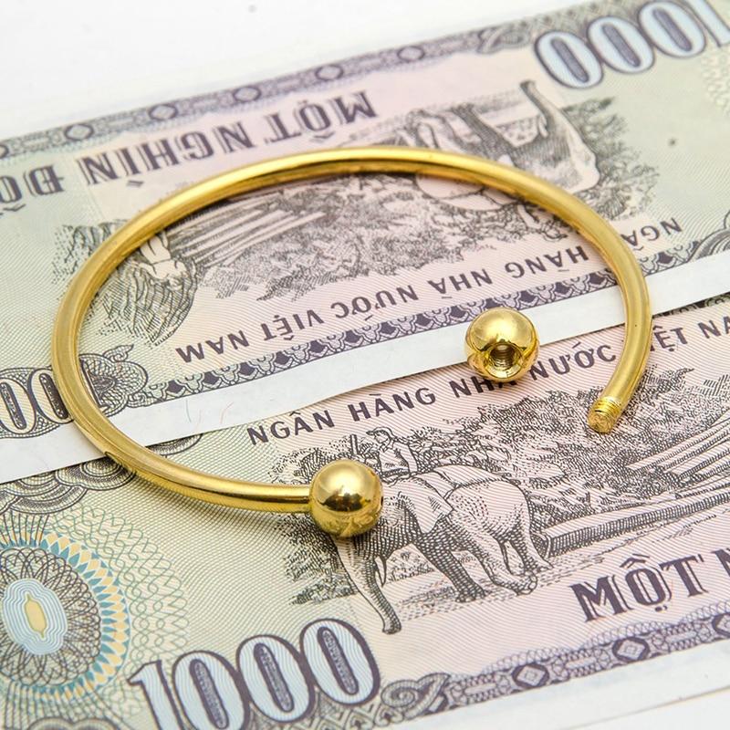 BS001-17 DIY bangle bracelets for women stainless steel