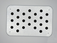 TTCR II For Audi A4 B6 B7 B8 A5 A6 C5 C6 A7 A8 Q5 A3 Q3 TT Universal Floor Carpet Mats Pedals Pad Footrest Plate Car Stickers