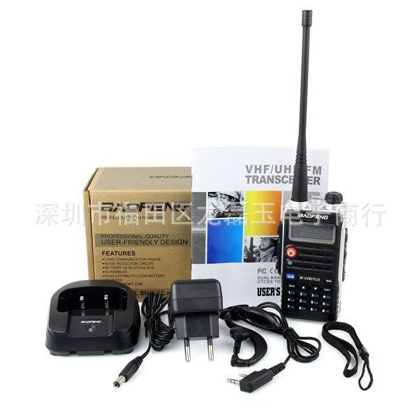 bilder für Neueste bein licht 4800 mah bf-uvb2 baofeng uvb2 plus für walkie Talkie Cb 2 zwei 2-wege-radio Mobil communicator High Power baofeng