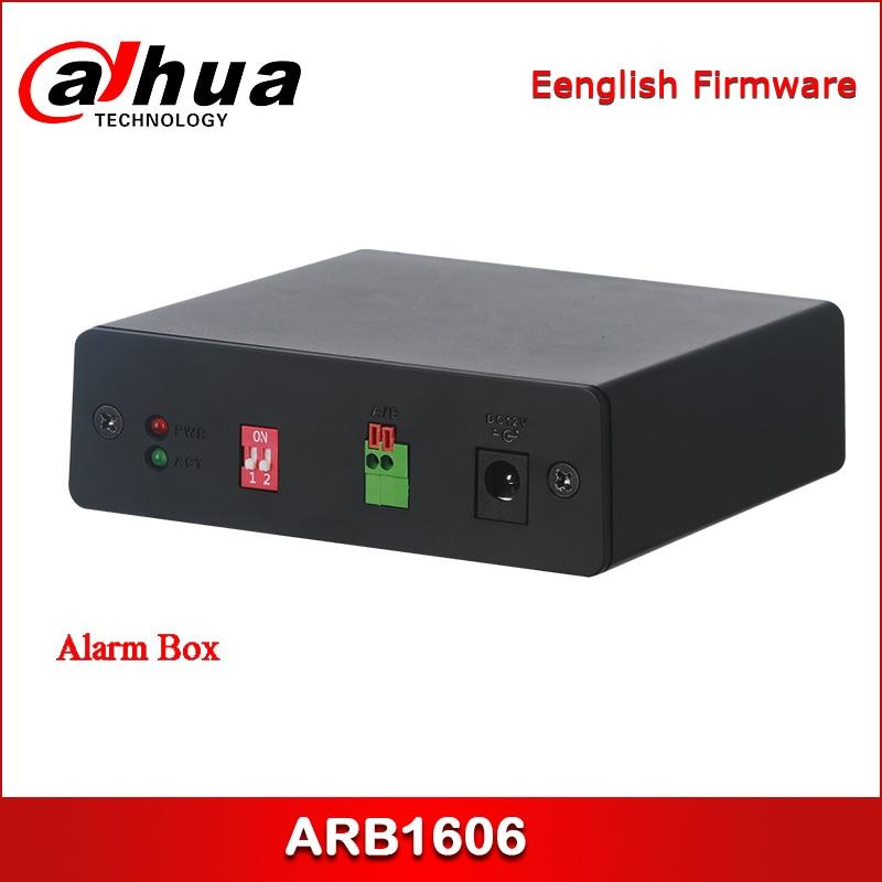 Dahua ARB1606 Alarm Box Support Universal 12V Power Supply