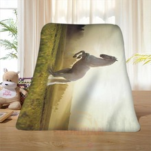 P#119 Custom Horse#28 Home Decoration Bedroom Supplies Soft Blanket size 58×80,50X60,40X50inch SQ01016@H+119