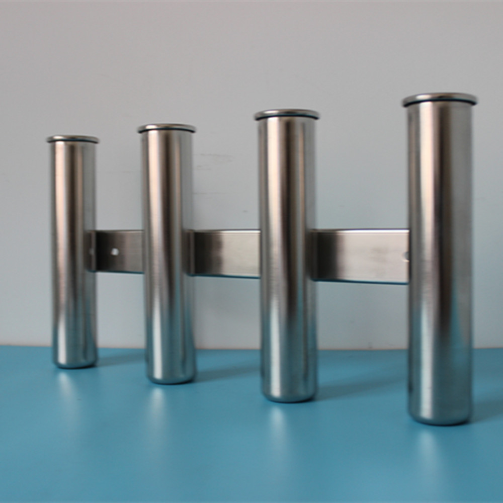 Aliexpress.com : Buy 4 Tube Rod Holder Triple Stainless ...