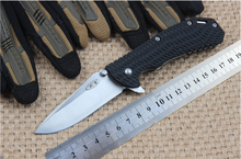 Folding knife tactical knives camping tools handle knives 5Cr13Mov blade Nylon handle high quality EDC free shipping
