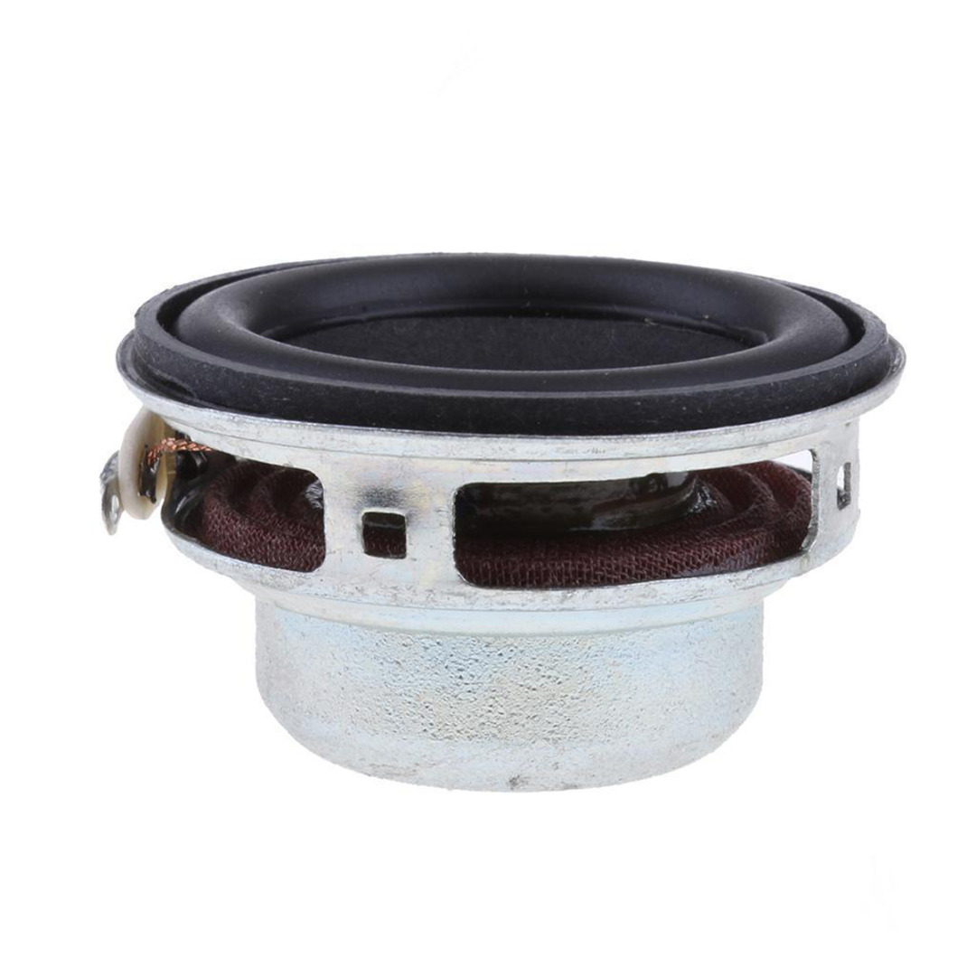 18 Coil Full Range Speaker Plastic Full Frequency Horn 40mm 4Ohm 5W Audio Magnet Loudspeaker Mayitr