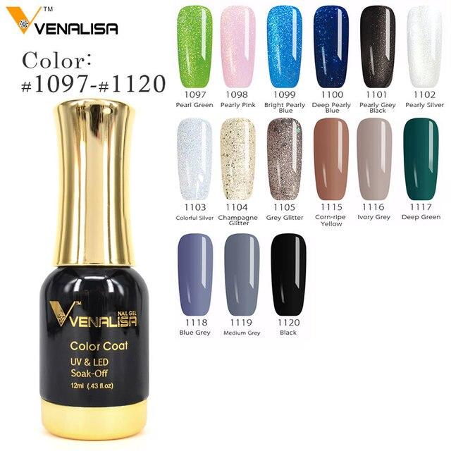 2019 Hot Sale Venalisa Gel Nail Polish Long-Lasting Soak-off Nail Polish Gel Polish 12ml 111 Colors Optional Nail Polish