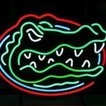 97902b010a4b07 CHEOPS Custom NEON SIGN signboard For NCAA College Basketball Florida Gators