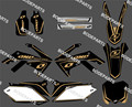 0170 GRAPHICS&BACKGROUNDS DECAL STICKERS Kits for HONDA CRF250R CRF250 2010 2012 2013 & CRF450R CRF 450 2009 2010 2011 2012 2013