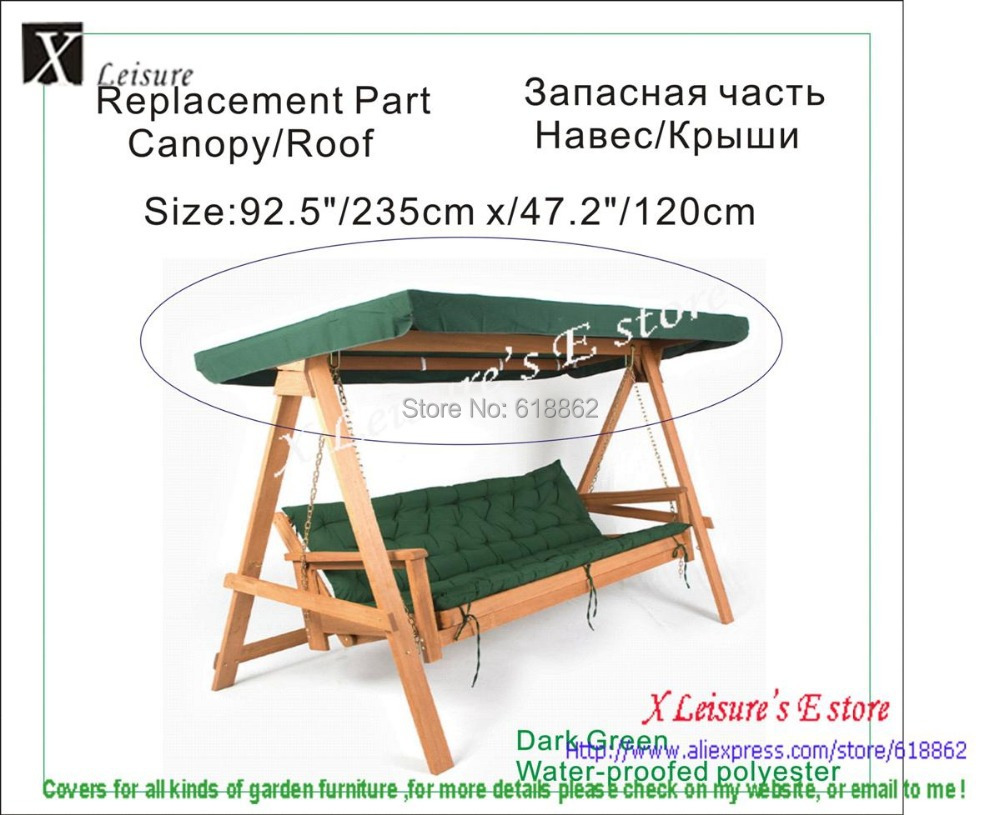 Swing Chair Canopy Replacement Modern Orange Microfiber Accent By Christopher Knight Home For Greenfingers Loreto 3 Seater Hammock Green 92 5 X47 2 235x120cm In Shade Sails Nets From Garden On