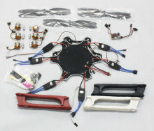 F550 Drone Heli FlameWheel Kit With QQ SUPER Control Board ESC Motor Carbon Fiber Propellers F05114-M
