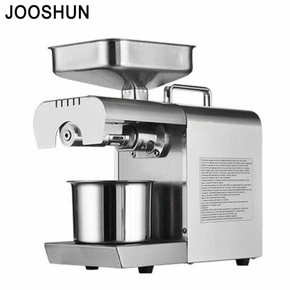 ALL Stainless Steel Oil Press Machine Commercial Home Oil Extractor Expeller Presser Hot and Cold Press Seed Oil Making Machine