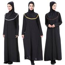 New hijab scarf evening dresses bangladesh kaftan dubai abaya pakistan caftan muslim black dress women djellaba islamic clothing