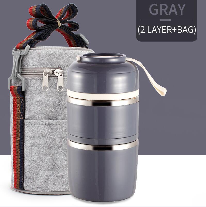 Gray 2 With Bag