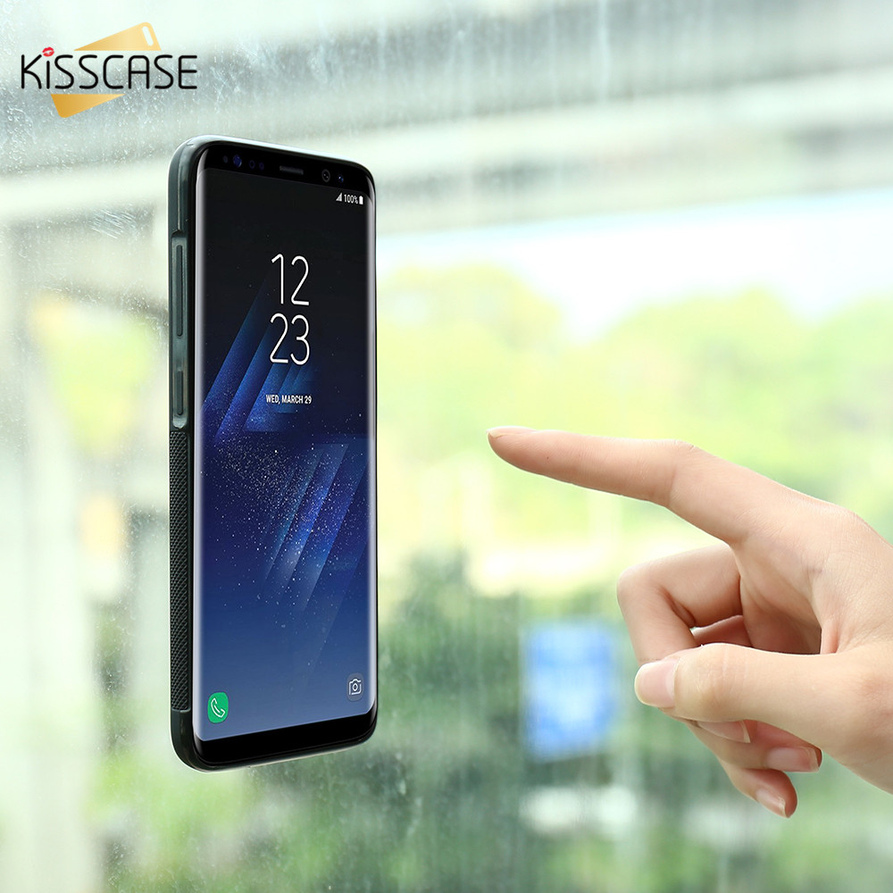 KISSCASE Anti Gravity Case For Samsung Note 8 4 5 Cases For