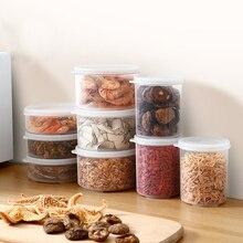 Moisture-proof dry goods sealed cans set miscellaneous grains seasoning storage tank tea plastic food box