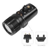 XTGP460 Durable Outdoor Waterproof Photo Studio Action Camera Aluminum Bright Diving Light Dimmable Led For Gopro Hero