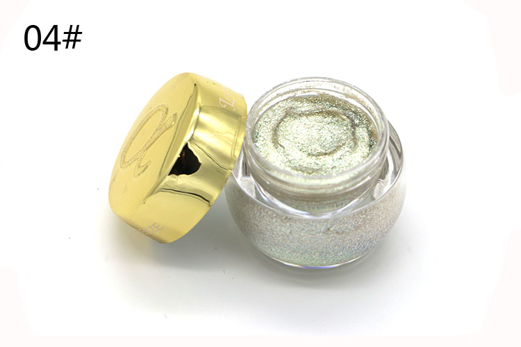 Love Alpha Single Color Eye Shadow Gel Eyes Makeup Glitter Nude Eyeshadow 16 Color EyeShadow Palette Shining Bright Brand Makeup (7)