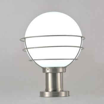 Modern Stainless Steel&Acrylic Garden/Yard/Fence Lamp Pillar Light Outdoor Used Lighting White Villa Lights