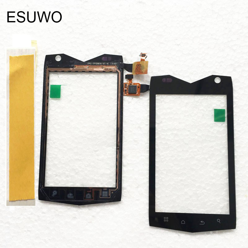 ESUWO Touch Panel For Texet TM-4082R TM-4104R TM-4084 X-driver Touch Screen Front Glass Sensor Digitizer Touchscreen