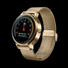 F1 Bluetooth Smart Watch, 1.22 inch IPS HD Display, Support Heart Rate Monitoring, Message Push for iOS & Android Phones