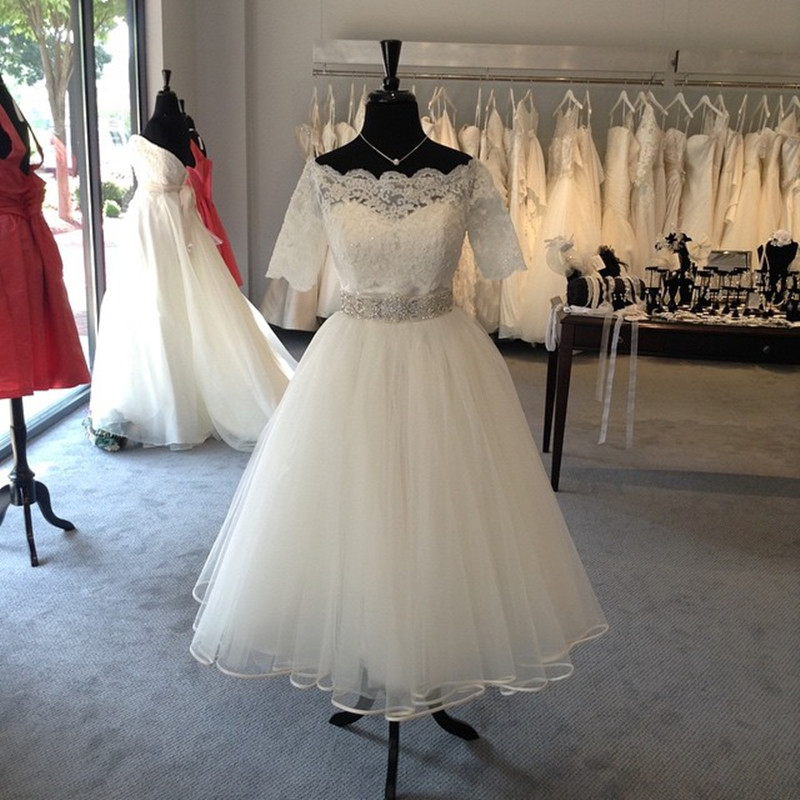 1950s Plus Size Wedding Dresses