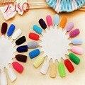 Moda 23 Colores de Uñas Herramienta de Maquillaje de Belleza Suministros Mujer Bonita Decoración Flocado de Terciopelo para las Extremidades Del Clavo Del Arte Del Clavo Cuidado