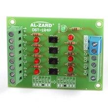 5V to 24V PLC Signal Converter Level Voltage Board 4Bit Optocoupler Isolator Signal Level Voltage Converter Board