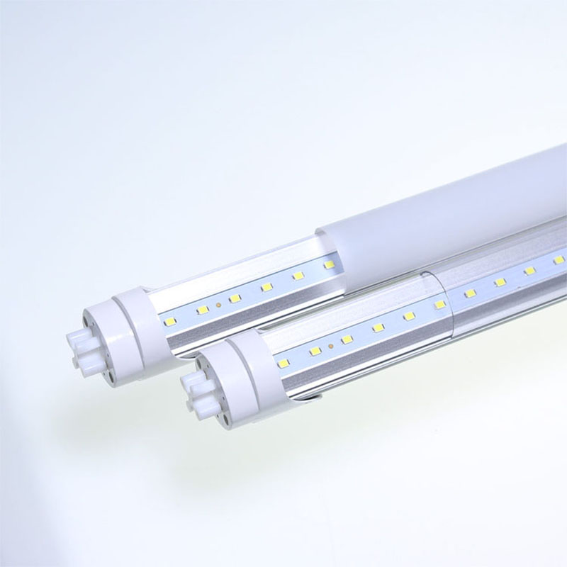 T8 LED Tube Light Fixture, Replace of 25W Fluorescent Tube, Plug ...