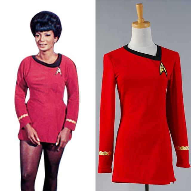 Star Trek Cosplay The Woman Duty Uniform Dress Costume Full Set Uniform Costume  sc 1 st  AliExpress.com & Star Trek Cosplay The Woman Duty Uniform Dress Costume Full Set ...