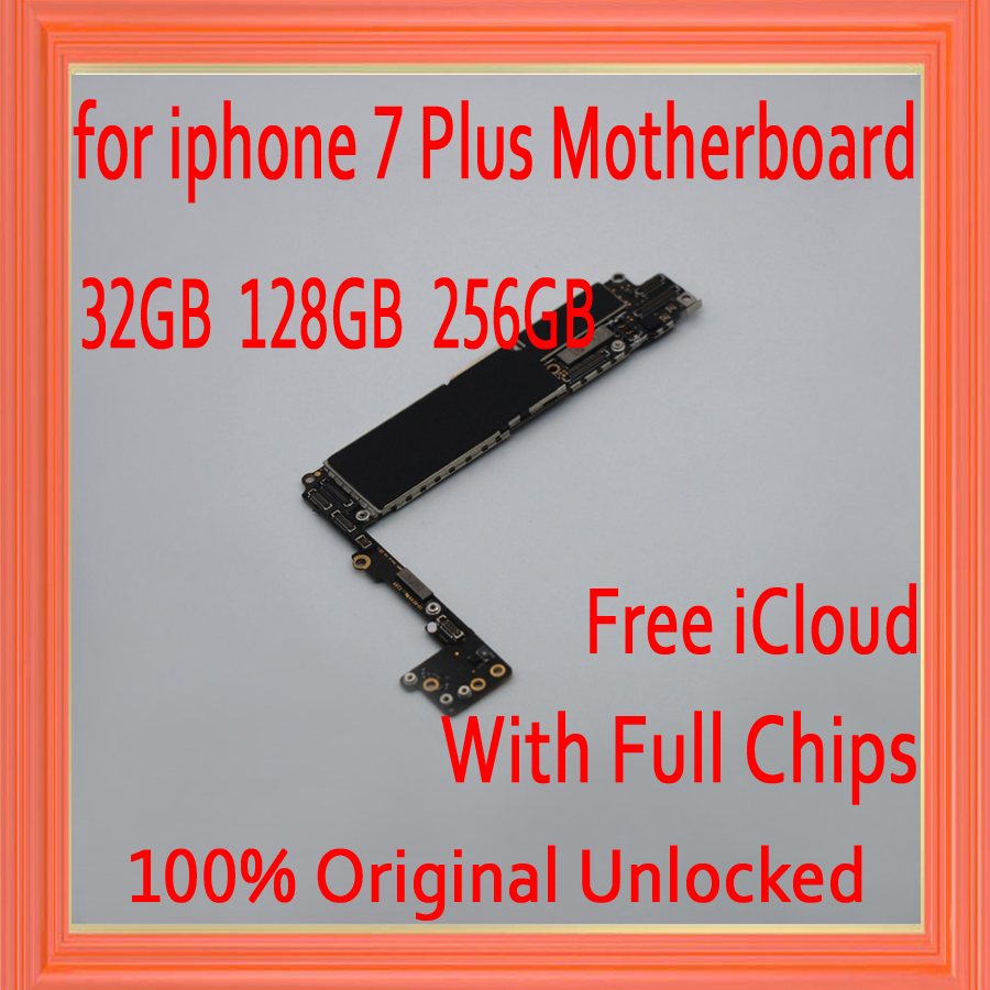 Full unlocked for iphone 7 Plus Motherboard without Touch ID,Original for iphone 7Plus Mainboard+Free iCloud,32GB 128GB 256GBFull unlocked for iphone 7 Plus Motherboard without Touch ID,Original for iphone 7Plus Mainboard+Free iCloud,32GB 128GB 256GB