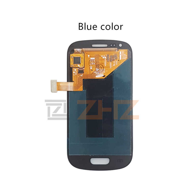 סופר AMOLED עבור samsung galaxy s3 mini lcd תצוגת i8190 מגע מסך Digitizer עצרת GT-i8190 i8195 i8200 תיקון חלקים