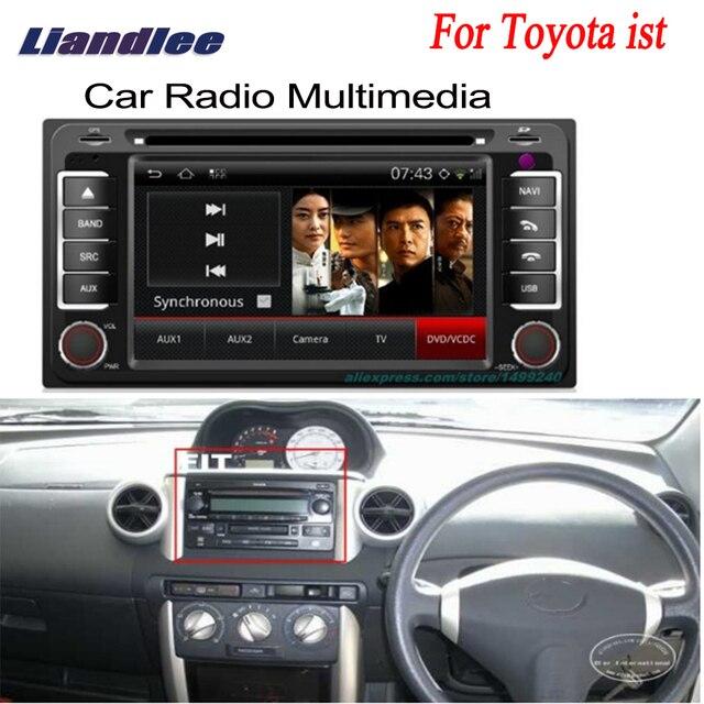 7dba01ee762d Liandlee For Toyota ist 2006~2013 2 din Car Android GPS Navi Navigation  Maps Radio