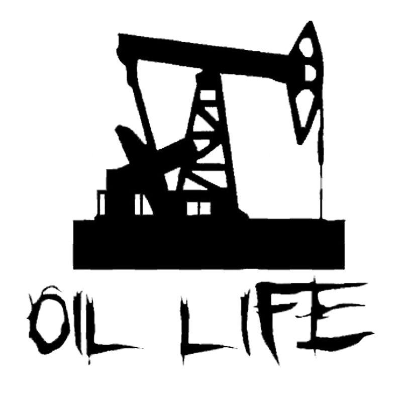11.4CM*11.4CM Oil Life Vinyl Decal Sticker Roughneck