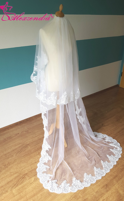 Bride Veil Wedding Veil with Comb  1
