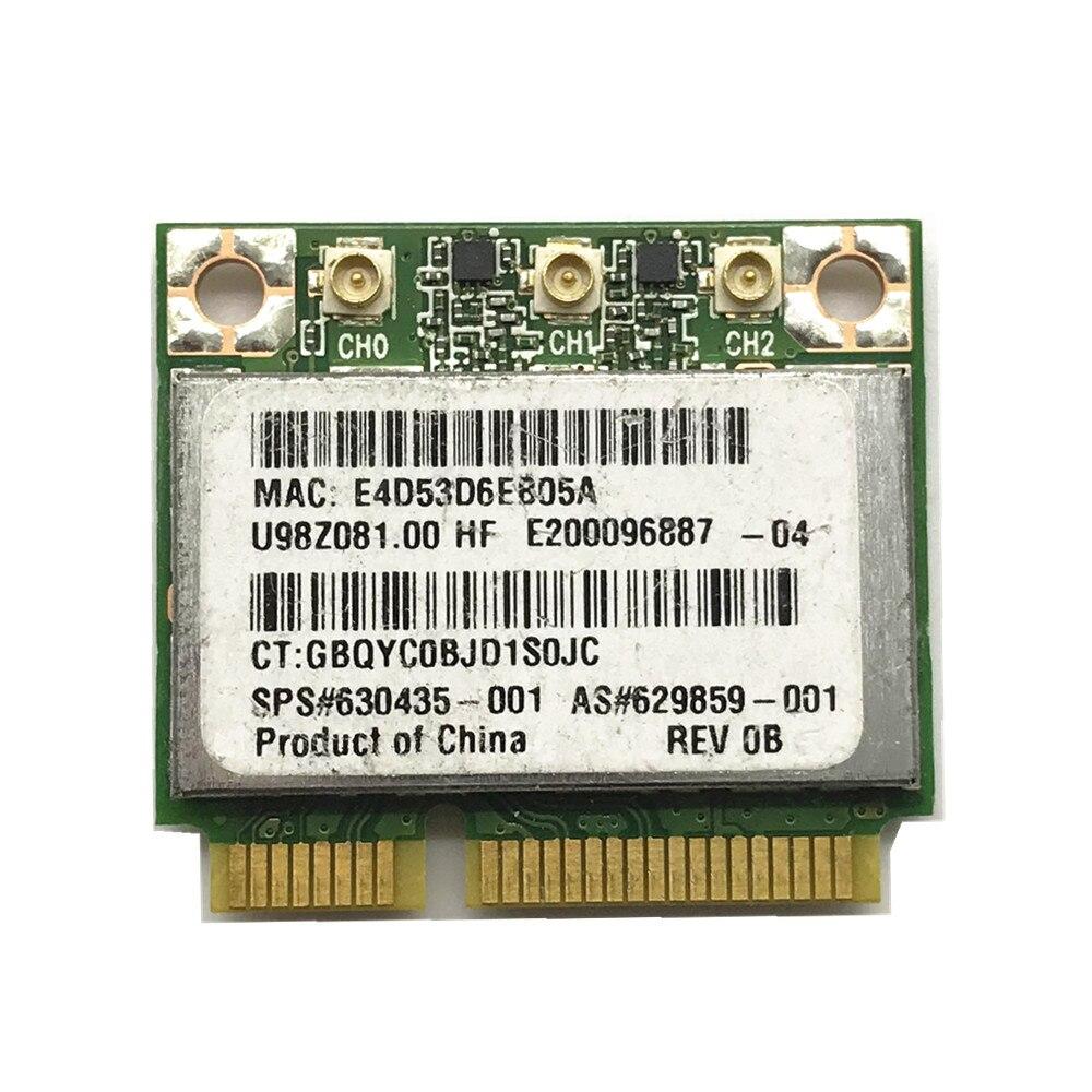 Atheros AR9380 AR5BHB112 Tueur N1103 WLAM 2.4G/5G HP SPS: 630435-001 WiFi carte LAN sans fil carte réseau
