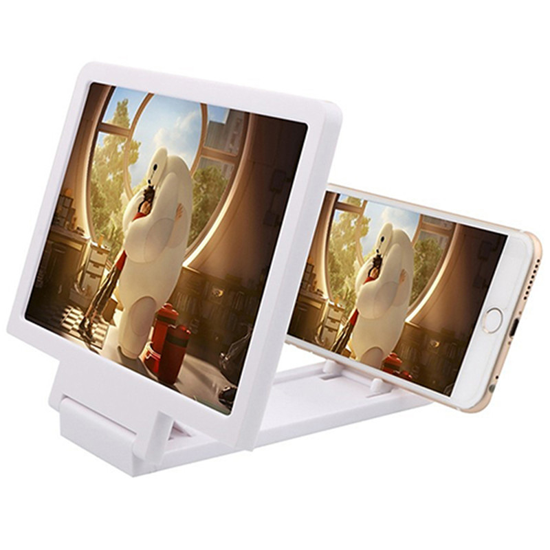 Universal Mobile Phone Screen Magnifier Holder Enlarge Cell Phone Display Stand