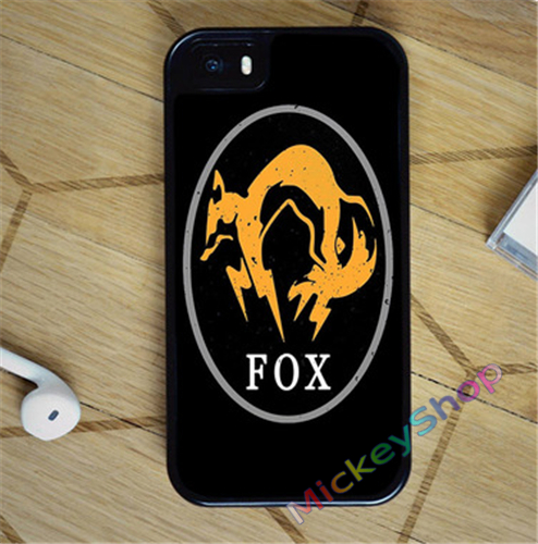 FOX METAL GEAR SOLID V THE PHANTOM PAIN case cover cover for iphone 4 4s 5 5s SE 5c for 6 6 plus 6S 6S plus 7 7 plus #CD172