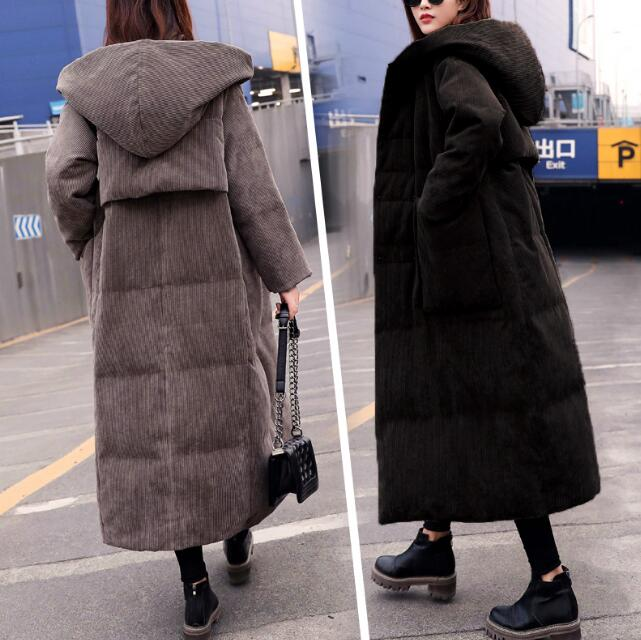 Women Winter   Down     Coat   Large Collar Warm   Down     Coat   Women Long Winter   Coat