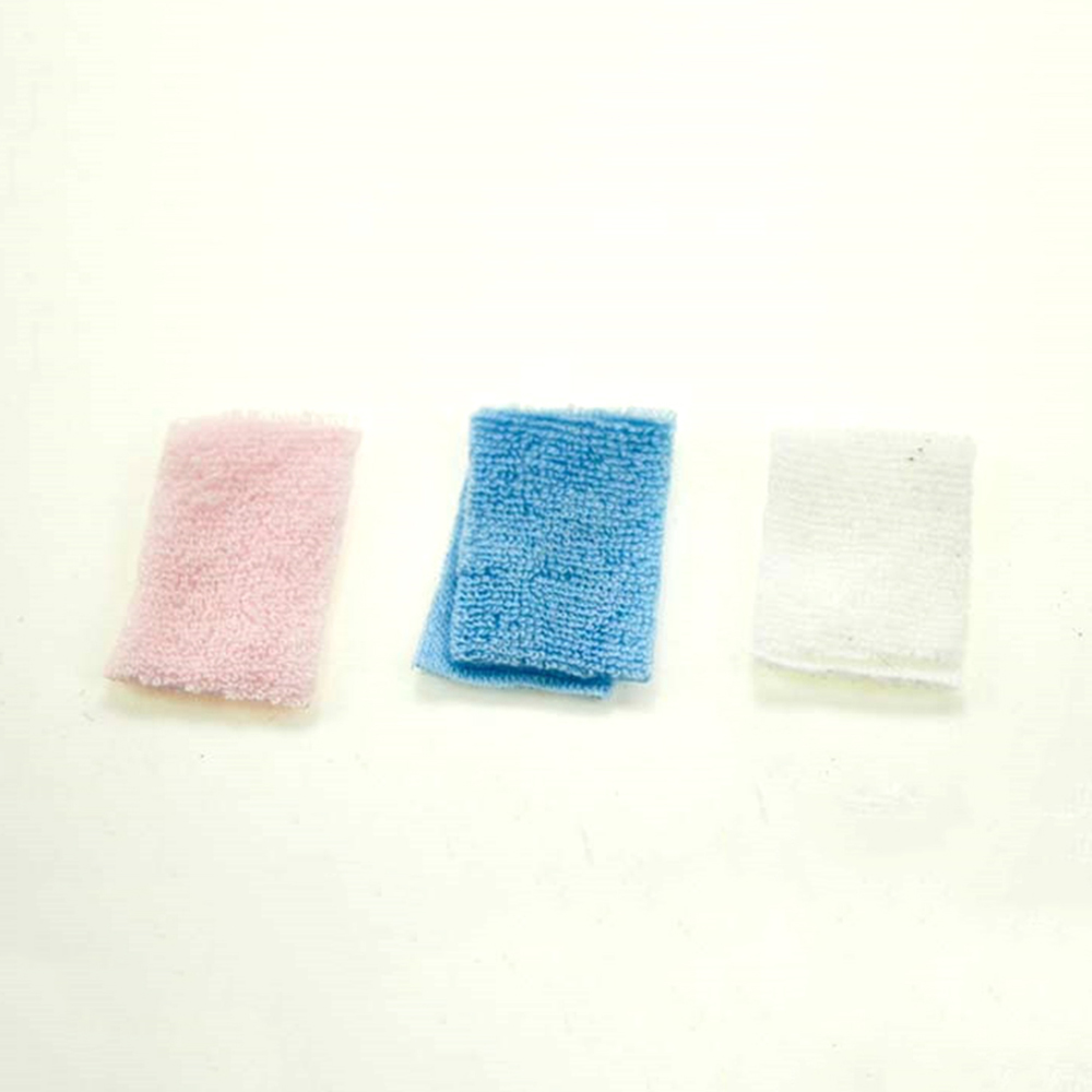3Pcs 1/12 Dollhouse Miniature Accessories Mini Bathroom Hand Towel Simulation Model Toys For Doll House Decoration
